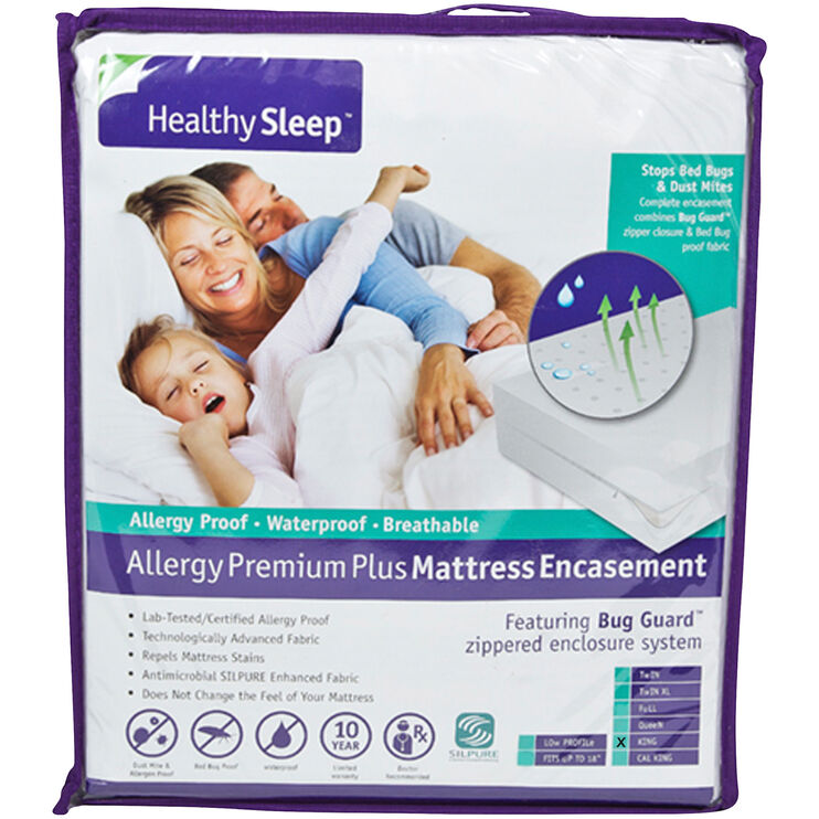 Healthy Sleep King Mattress Encasement