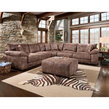 Monza Brown 3 Piece Sectional