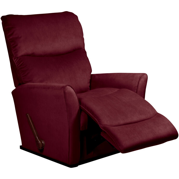 Rowan Burgundy Rocker Recliner