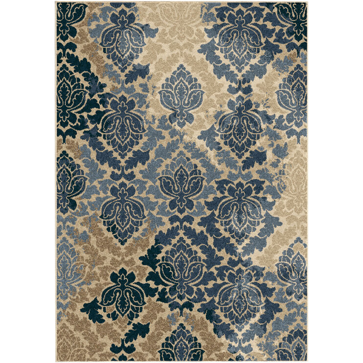 Four Seasons Liberty Blue Multi 5 x 8 Rug
