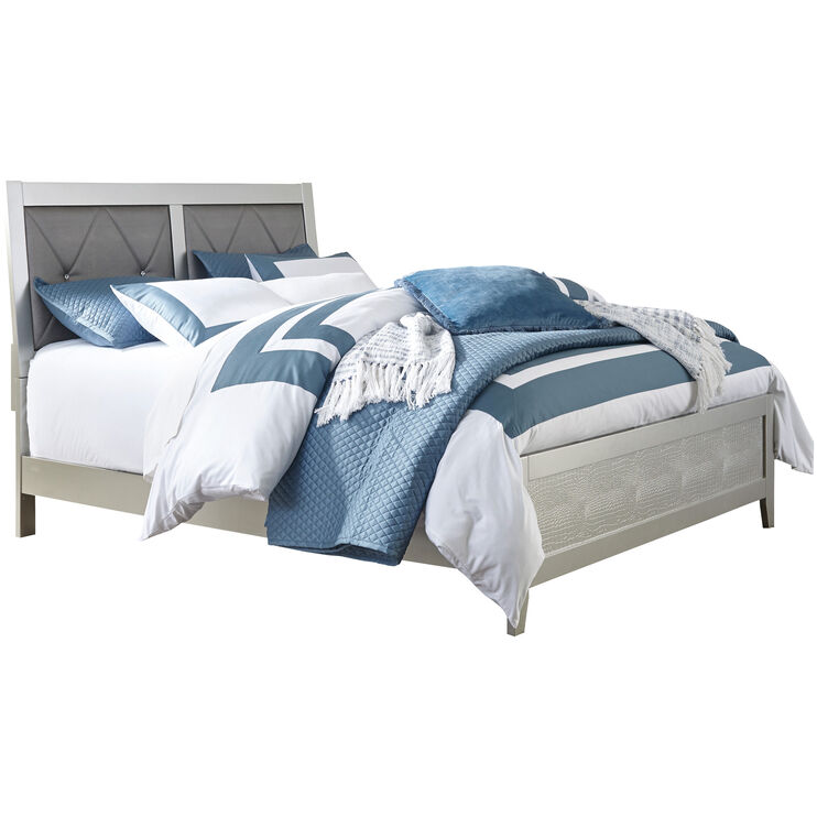 Olivet Silvertone Twin Bed