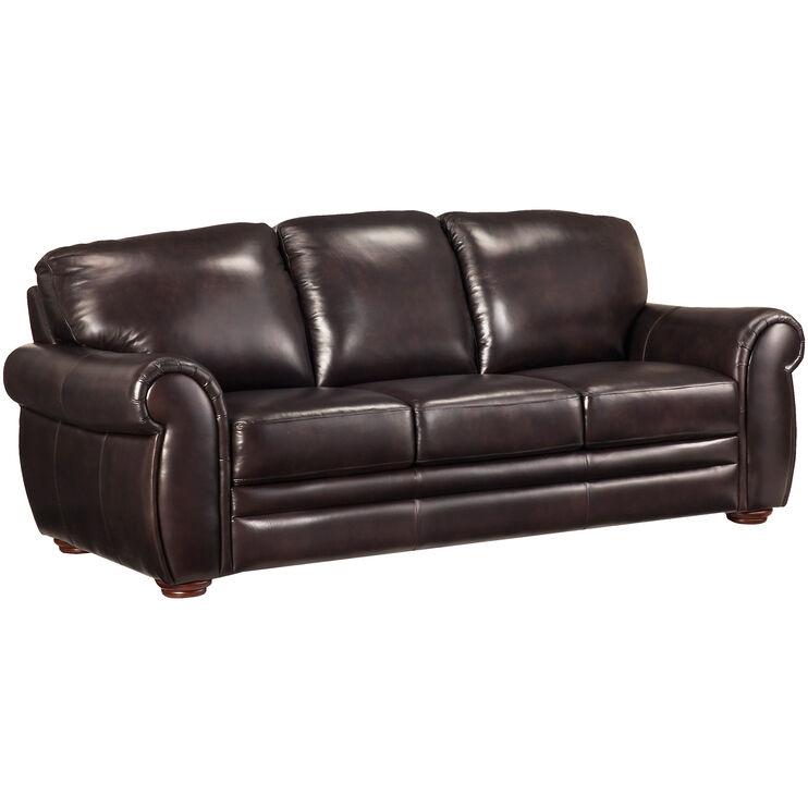 Gallery Dark Brown Sofa