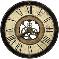 Brass Works Medium Round Wall Clock
