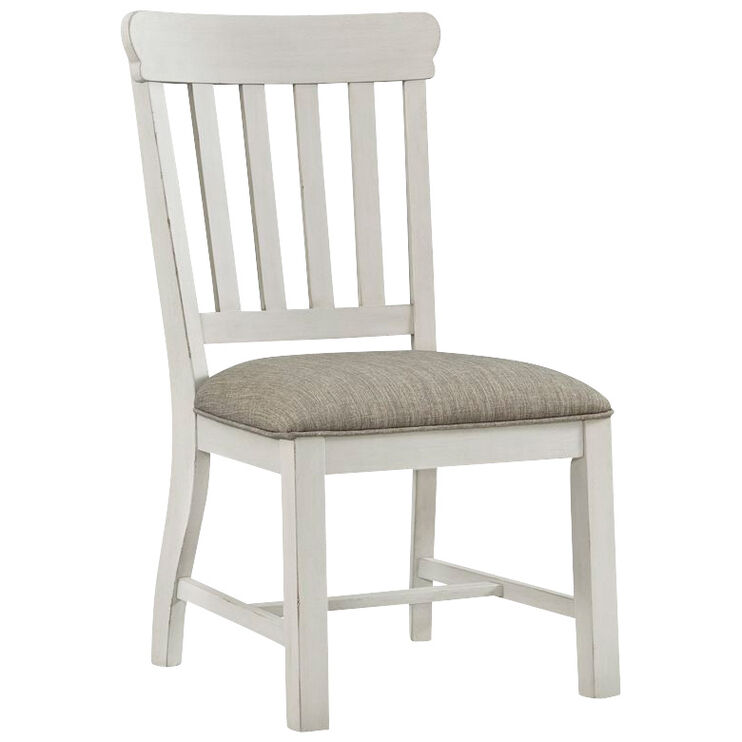 Drake White Side Chair