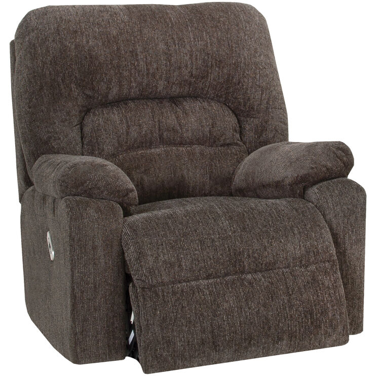 Nome Gray Power+ Rocker Recliner