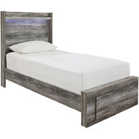 Baystorm Gray Twin Bed