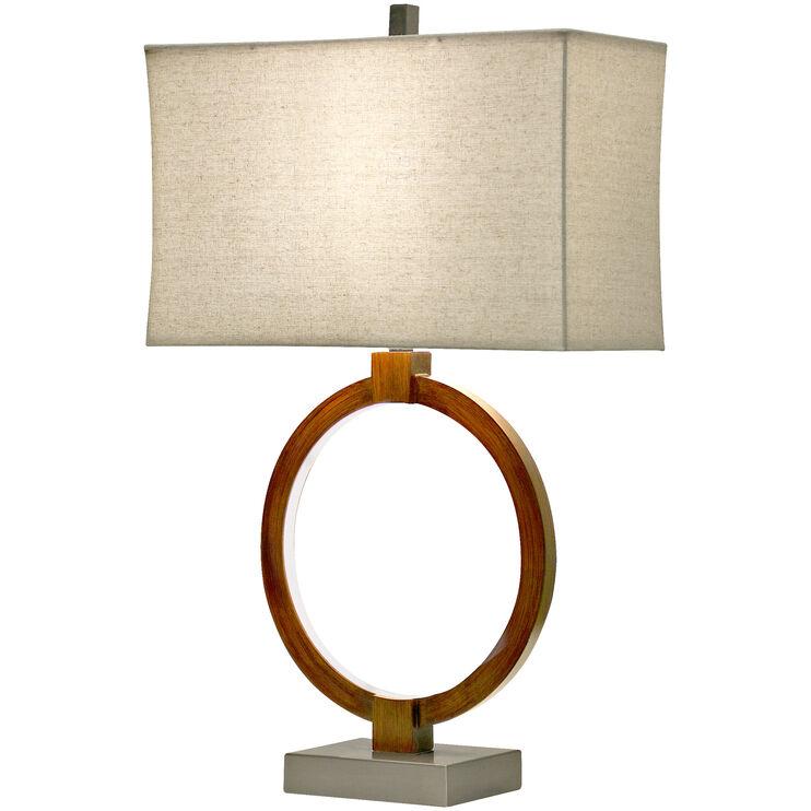 Wellwood Bronze Tone Table Lamp