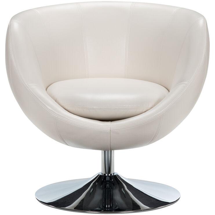 Globus Cream Swivel Chair
