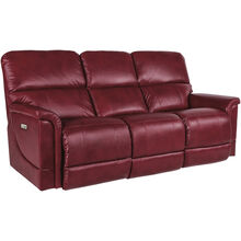 Oscar Crimson Power+ Reclining Sofa