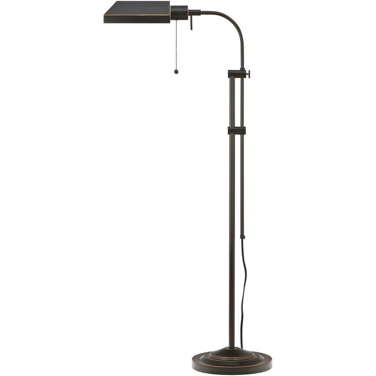 Pharmacy Brown Floor Lamp