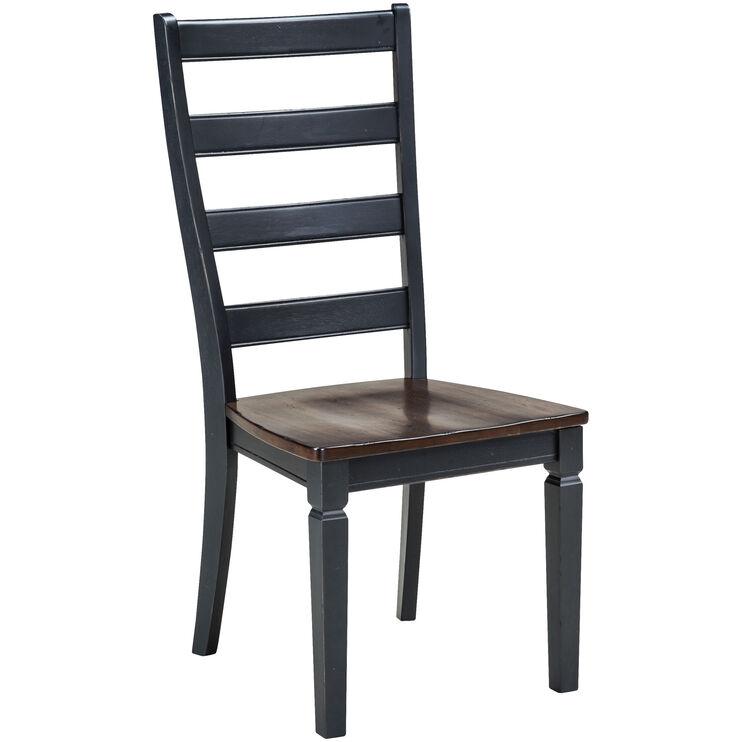 Glennwood Black Chair