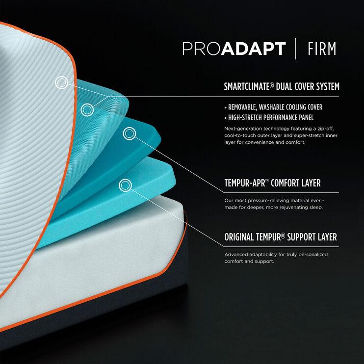 Tempur-Pedic Pro Adapt Firm Full Mattress