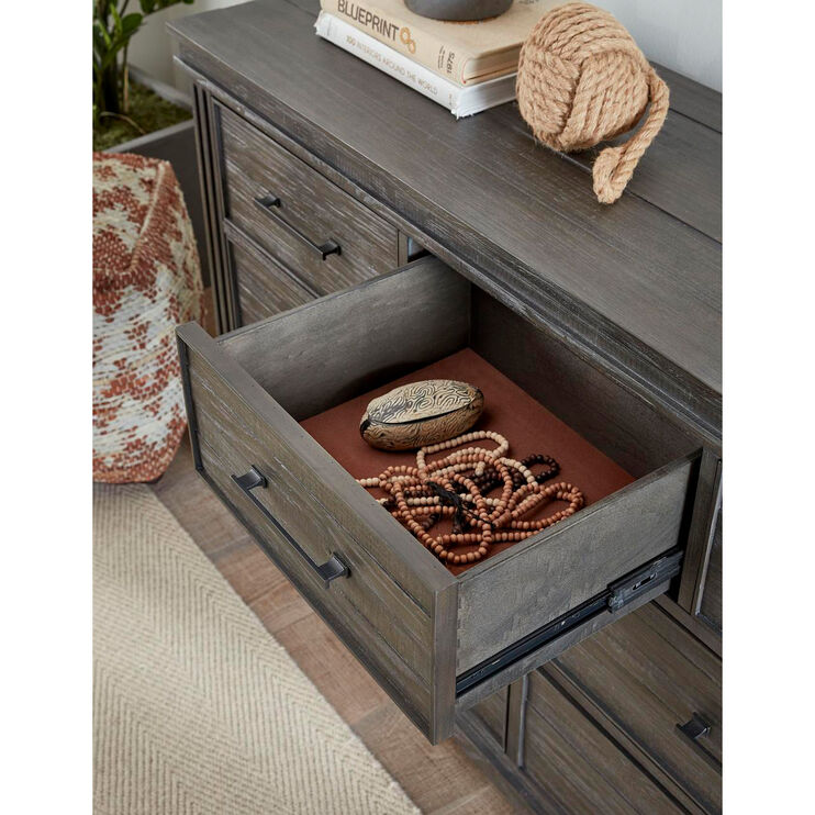 Hampton Bay Onyx Gray Dresser