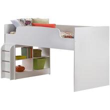 Lulu White Loft Bed, Upper Only