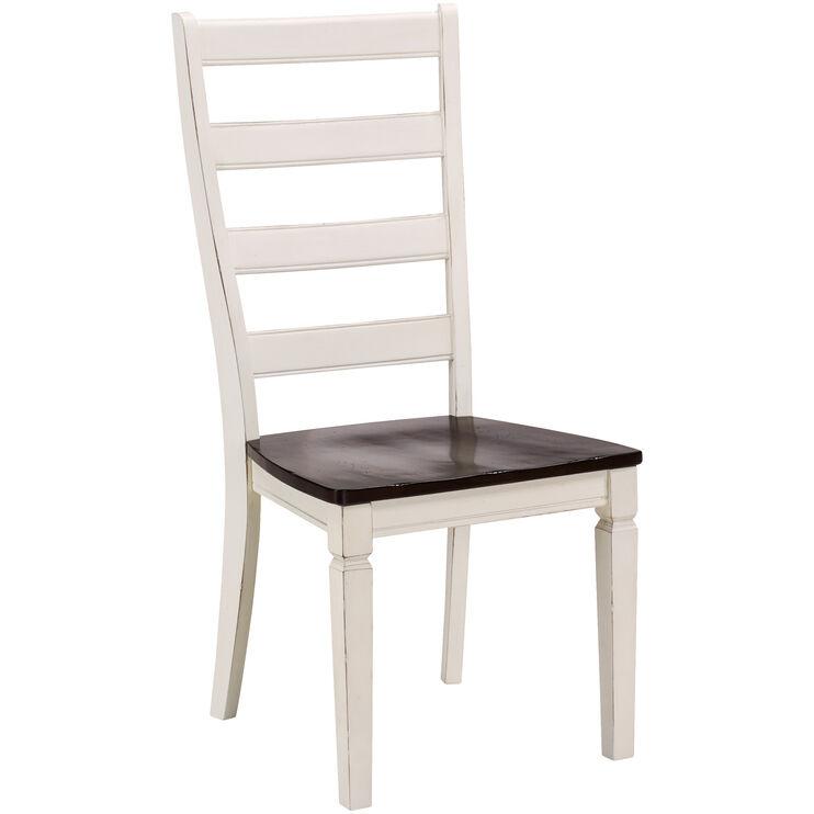 Glennwood Antique White Chair