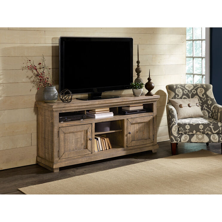 Willow Weathered Gray 64 Inch Console