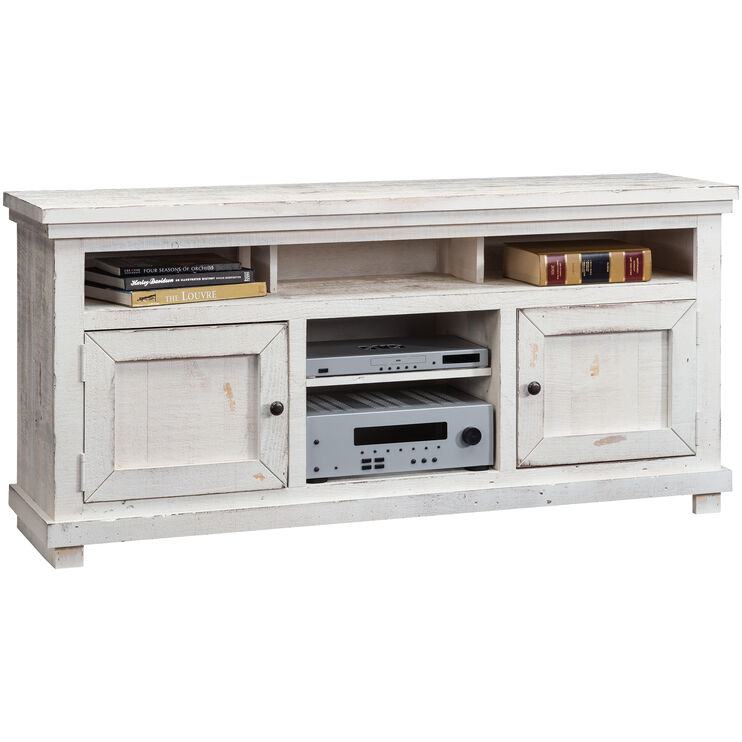 "Willow White 64"" Console"