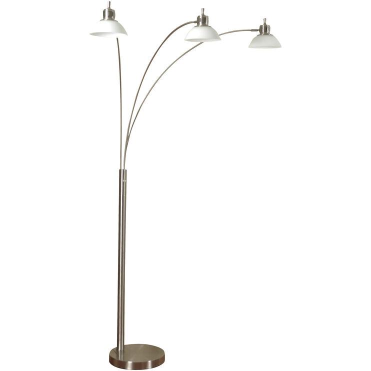 Madison 3 Head LED Arch Lamp