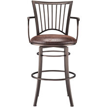 Morgan Brown 30 Inch Stool