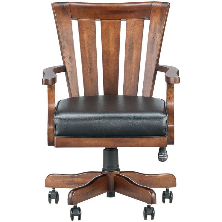 Sedona Rustic Oak Castered Chair
