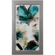 Blue Ribbon Blooms I Framed Art