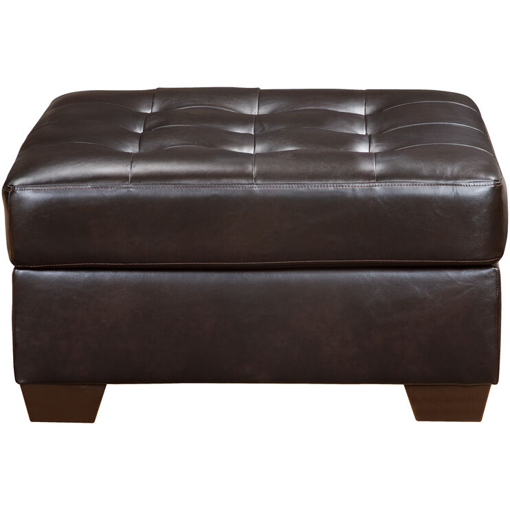 Pinner Chocolate Ottoman