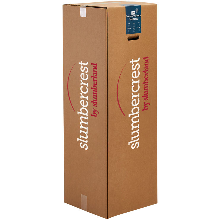 Slumbercrest 12 Inch Memory Foam Queen Mattress in a Box