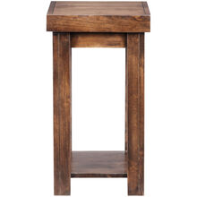 Sausalito Brown Chairside Table