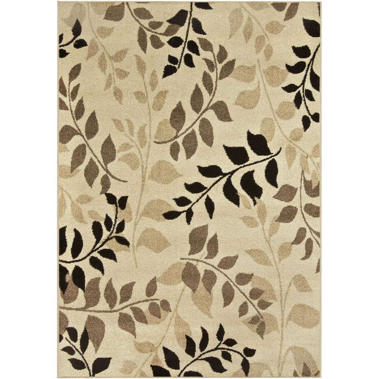 Four Seasons Olive Grove Beige 5 x 8 Rug