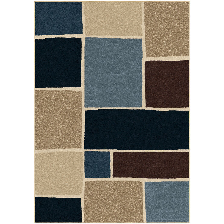 Four Seasons Graycliff Blue 5 x 8 Rug