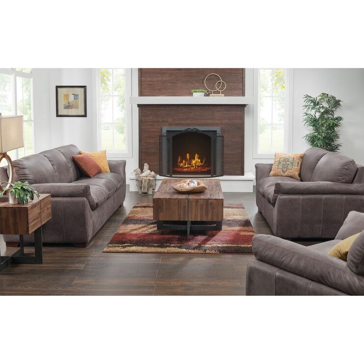 Stafford Chocolate Sofa