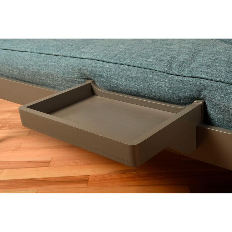 Kelcie Dark Gray Bunkbed Tray