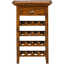 Urban Lodge Brown Wine Rack
