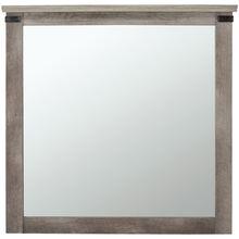 Gambrel Driftwood Mirror