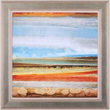 Earth Layers II Framed Art