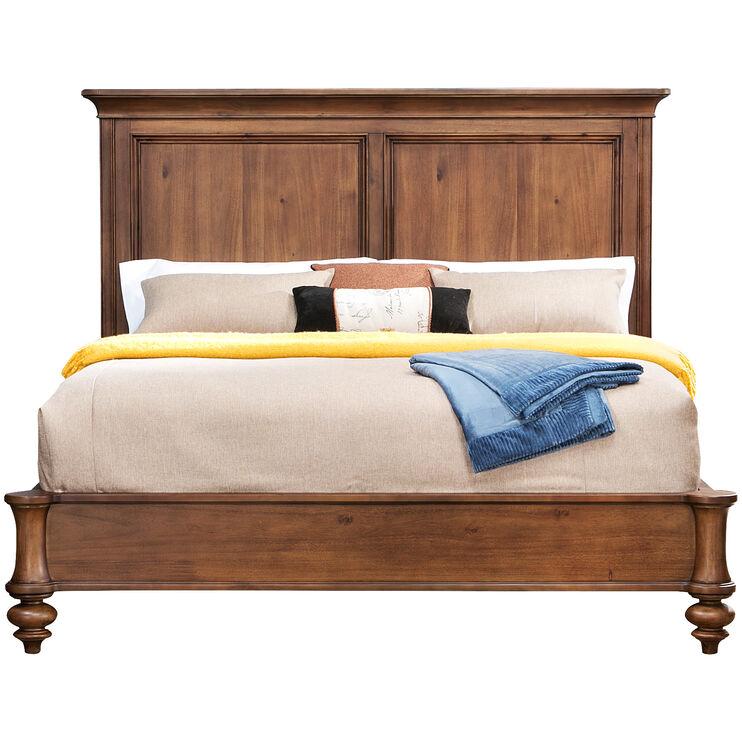 Broyhill Cascade Brown Queen Bed