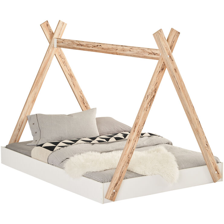 Piperton White Twin Tent Bed