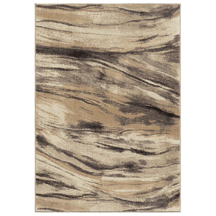 Heritage Sycamore Tan Abstract 5 x 8 Rug