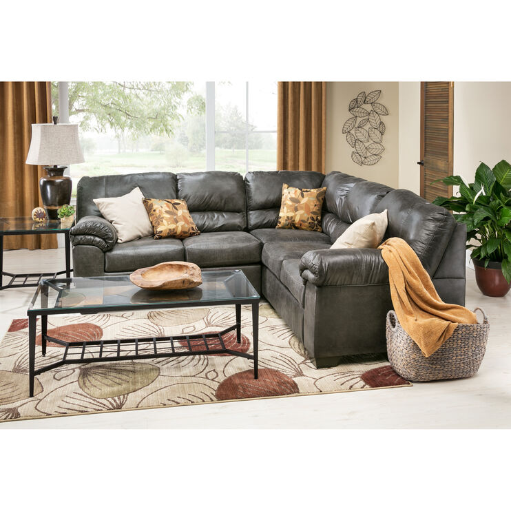 Redmond 2 Piece Slate Sectional