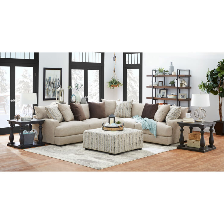 Wake Dusk 3Pc Sectional