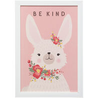 Kind Bunny Framed Art