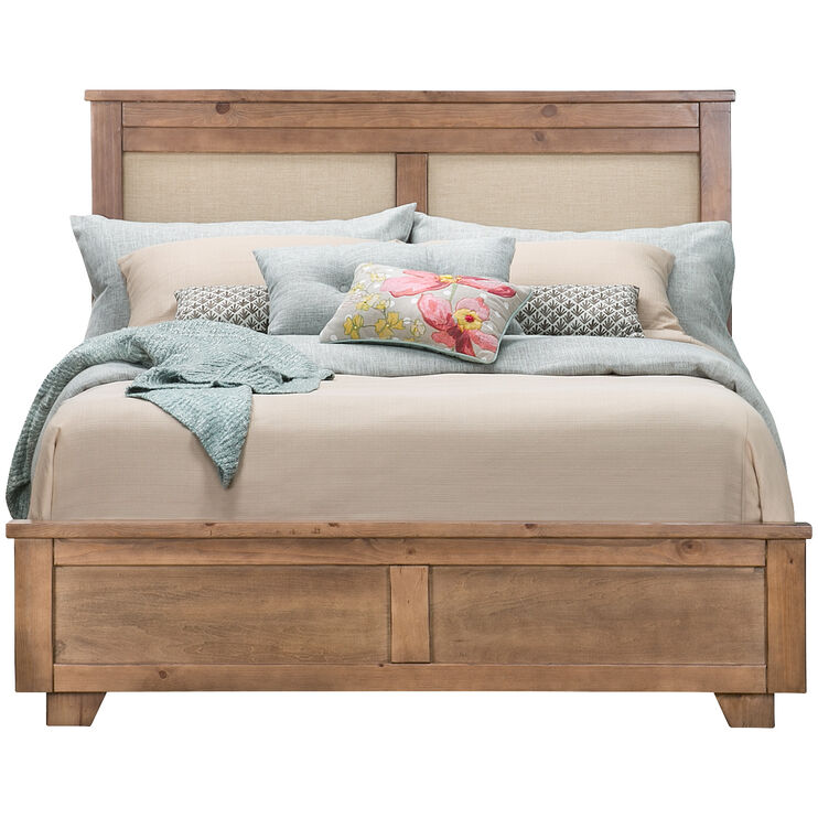 Diego Dune Upholstered Queen Bed