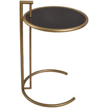 Eileen Round Gold Accent Table