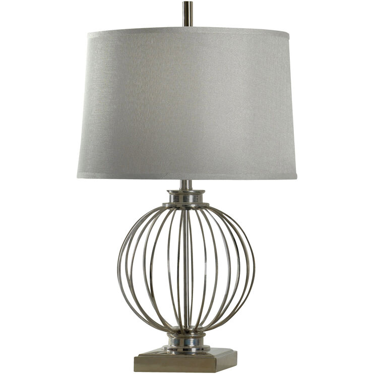 Callan Nickel Table Lamp
