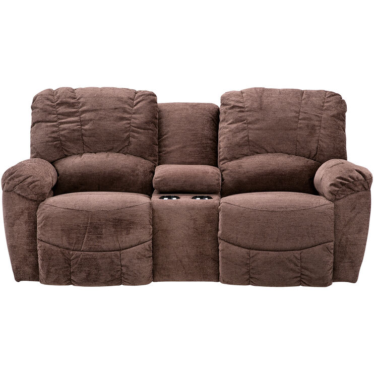 La-Z-Boy Hayes Chocolate Console Loveseat