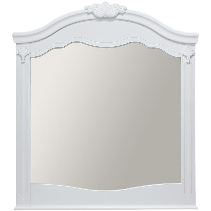 Exquisite White Mirror