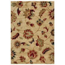 Wild Weave London Bisque Tan Floral 8 x 11 Rug
