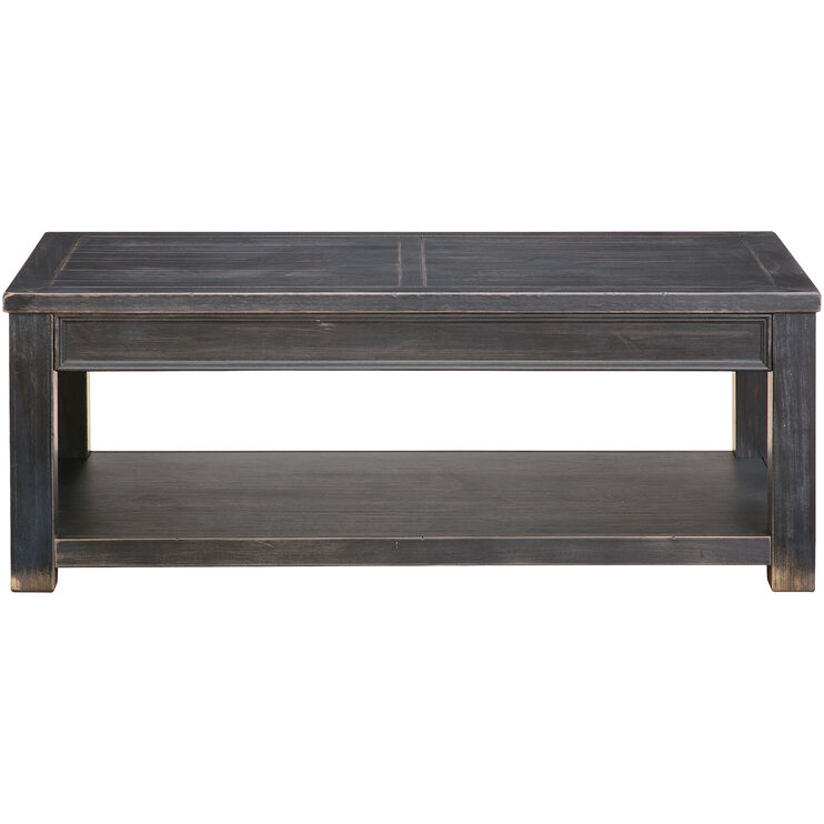 Gavelston Black Coffee Table