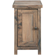 Joshua Creek Barnwood Storage Chairside Table