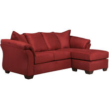 Marcy Salsa Chaise Sofa